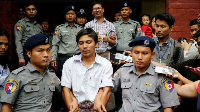 Jailed Reuters Journalists In Myanmar Lose Appeal