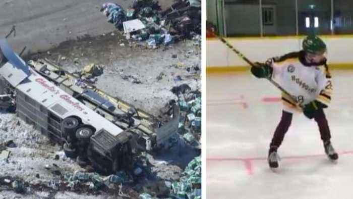 Teen Hockey Player Returns to Ice After Surviving Deadly Bus Crash
