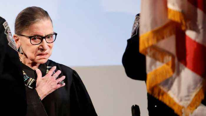 Justice Ginsburg To Miss Three More Days Of Oral Arguments