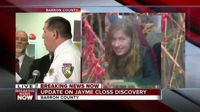 Jayme Closs released from hospital after ordeal