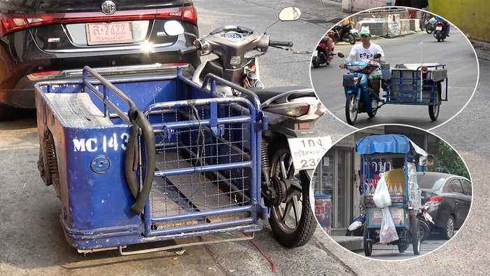 Modified Motorcycles In Thailand