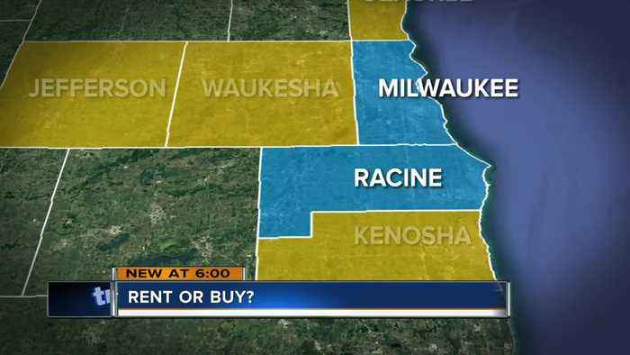 Renting vs. buying a home in Milwaukee County