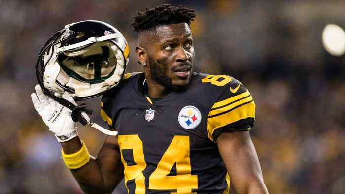 Steelers not planning to release WR Antonio Brown