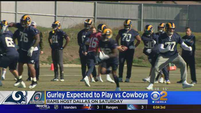 Gurley Expected To Play Vs Cowboys