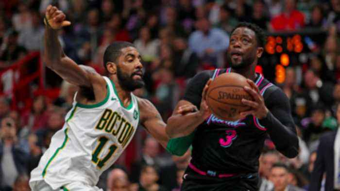 Dwyane Wade talks about being the calming factor for his team in win over Celtics