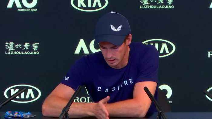 An emotional Andy Murray says he will stop playing tennis this year due to hip pain