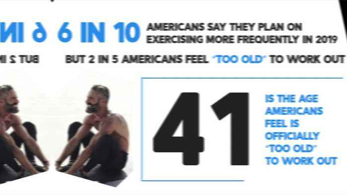 This is the Age Americans Feel Too Old to Exercise