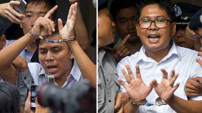 Jailed Reuters Reporters Appeal Rejected By Myanmar Court