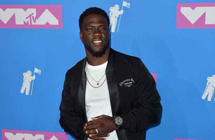 Workaholic Kevin Hart