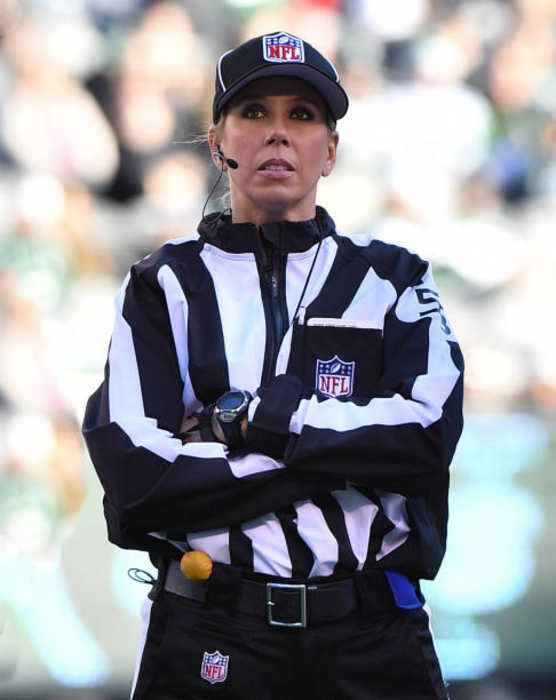 Sarah Thomas Will Be First Woman to Referee NFL Playoff Game