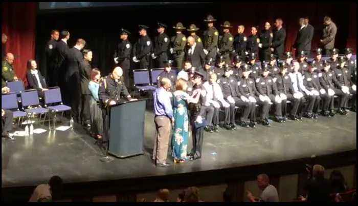 Officer Corona Graduation