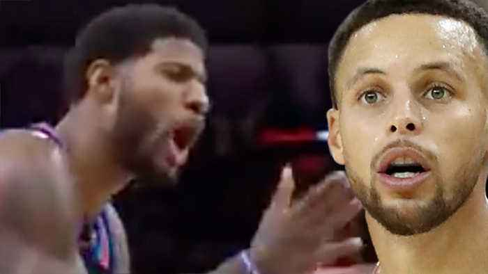 Steph Curry SLIDES Onto Twitter To Call BS On Paul George's Attempt To Get A Technical Foul!