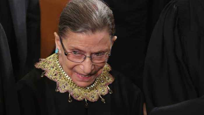 Ruth Bader Ginsburg's Recovery Is 'On Track,' SCOTUS Says