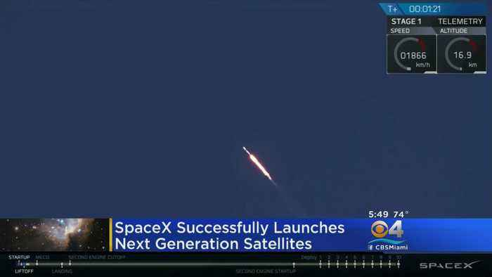 SpaceX Launches Final Batch of Next-Gen Satellites