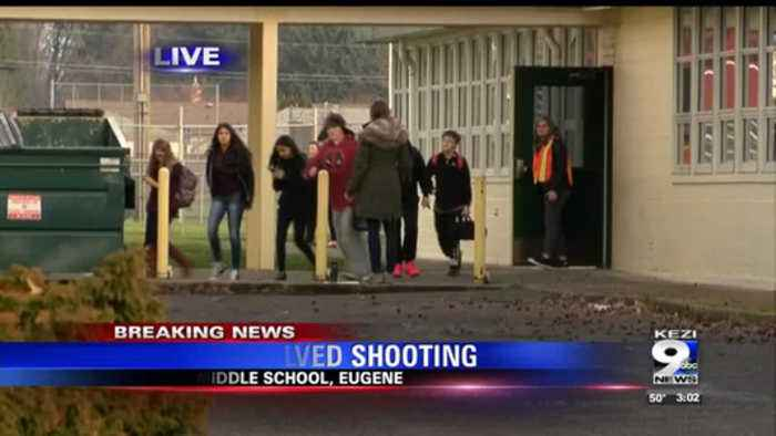 Students reunite with parents after shooting outside Cascade Middle School