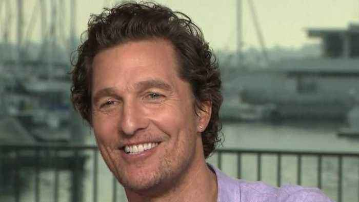 Matthew McConaughey on Finally Getting to Work With His 'Crush' Diane Lane (Exclusive)