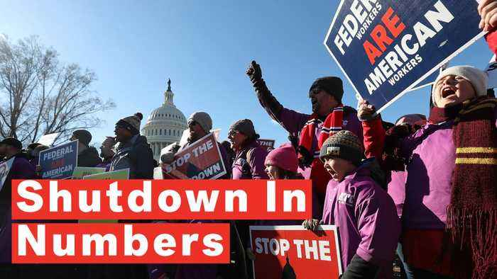 Government Shutdown Become Longest In US History Continues