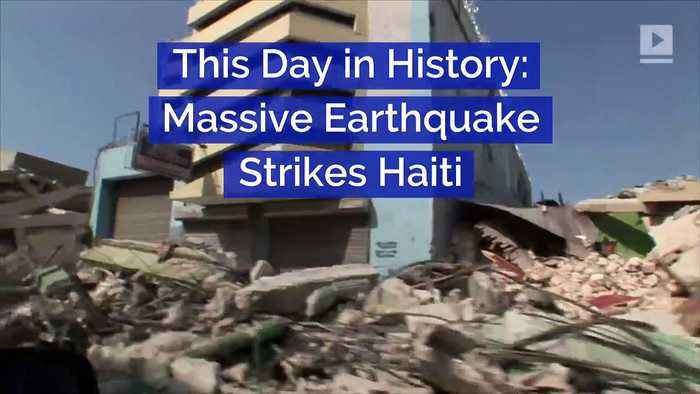 This Day in History: Massive Earthquake Strikes Haiti