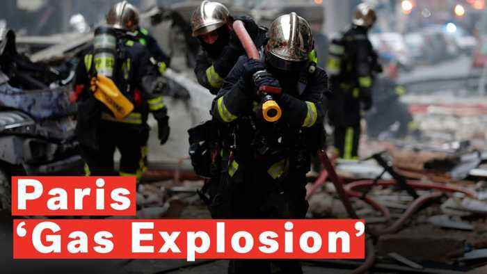 Paris 'Gas Explosion' Kills Two Firefighters And Hurts Dozens