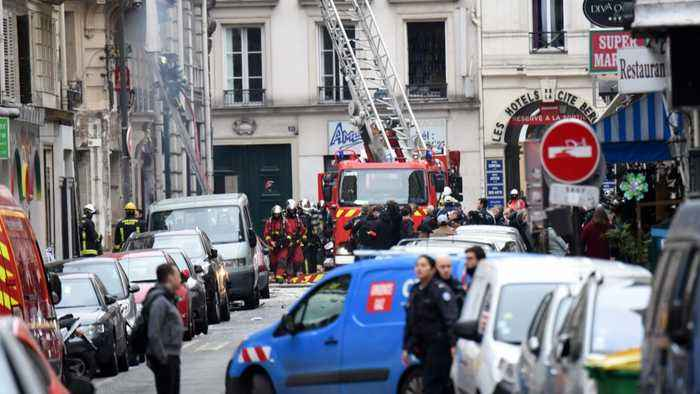Gas Explosion In Paris Kills Four, Injures Dozens