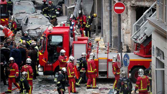 3 Killed In Massive Explosion In Central Paris, 50 Others Injured