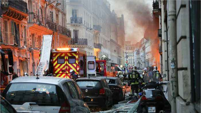 Three Killed In Gas Explosion In Paris Amid 'Yellow Vest' Protest Lockdown