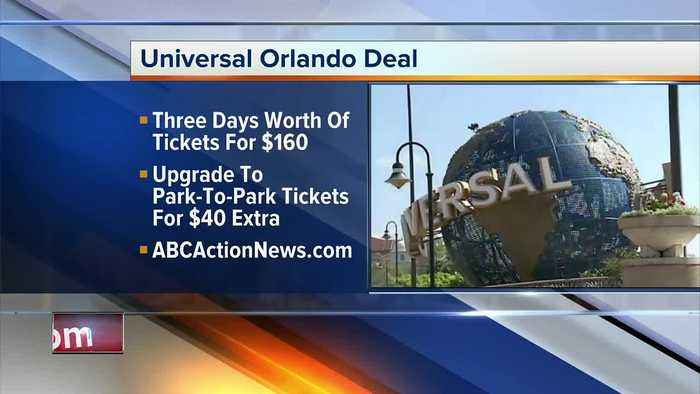 Universal Orlando offers multi-day ticket deal for Florida residents