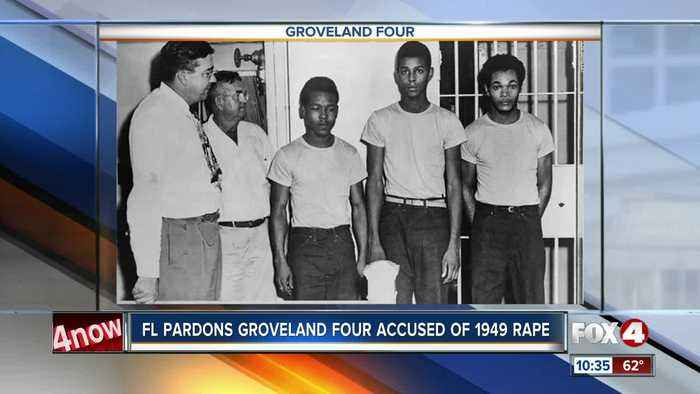 Groveland four pardoned