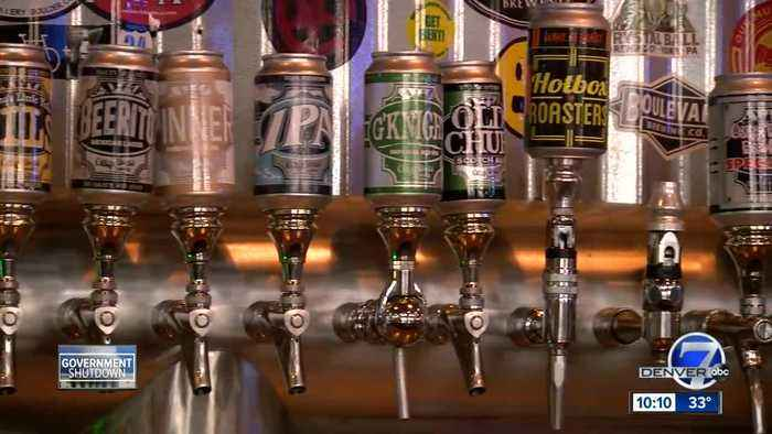 Colorado breweries hit by government shutdown
