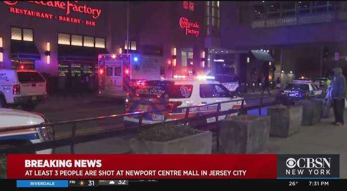 At Least 3 People Shot At Newport Centre Mall In Jersey City
