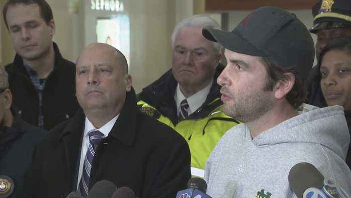Jersey City Officials Provide Update On Shooting At Newport Centre Mall
