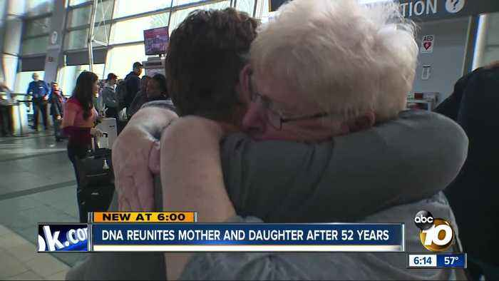 DNA reunites mother and daughter after 52 years in San Diego
