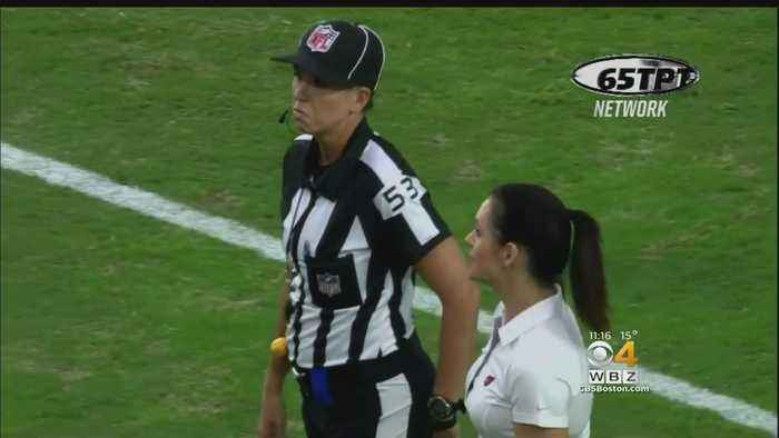 Sarah Thomas Inspires Female Officials, Makes NFL History,