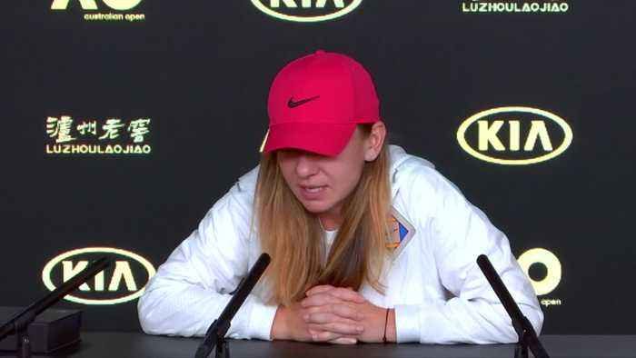 Top seed Halep rested and relaxed heading into Australian Open