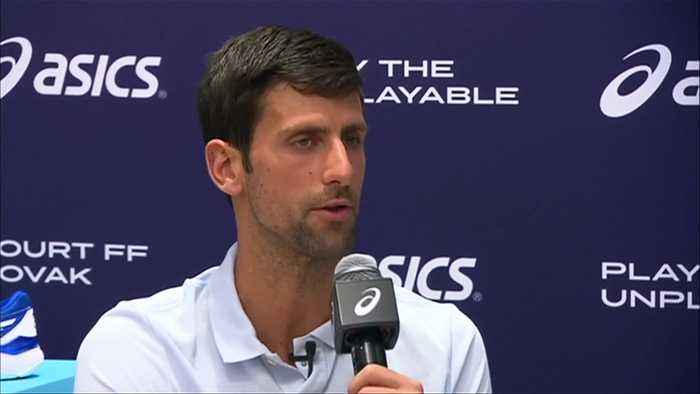 Djokovic shocked at Andy Murray's retirement plans