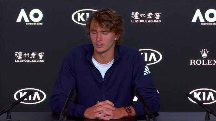 Zverev searching for Grand Slam 'mentality' in Melbourne