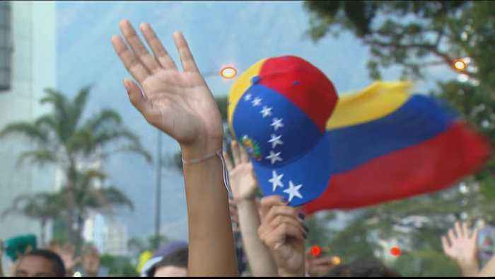 Maduro opponents hold protest, call for new Venezuela elections