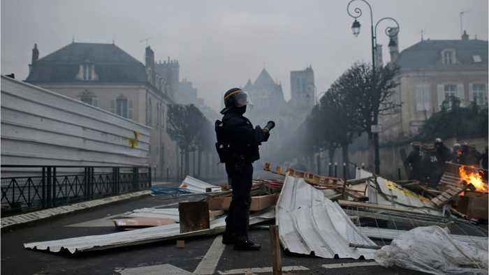 Yellow Vest Protests Continue For Ninth Consecutive Week