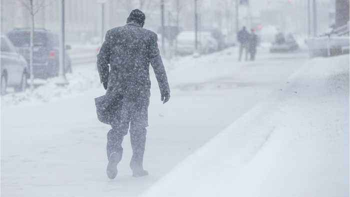 Snowstorm Heads For Washington After Battering The Midwest