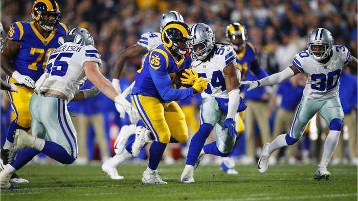 C.J. Anderson Leads The Rams Over The Cowboys