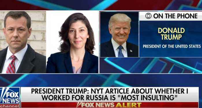 Trump to Judge Jeanine: NYTimes article about Russia hoax is 'most insulting thing' ever