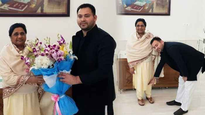 Election 2019 : Tejashwi Yadav predicts BJP's Whitewash after meeting Mayawati | Oneindia News