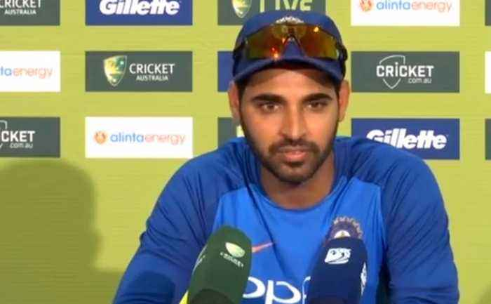 'Not impossible to win from here': Bhuvneshwar on India, Australia ODI series