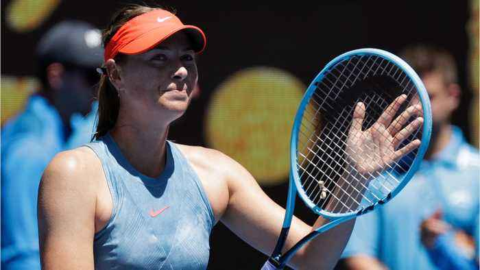 Sharapova Opens With Double Bagel At Australian Open