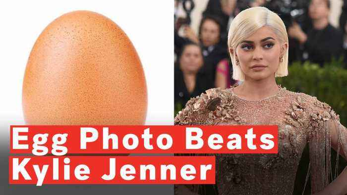 Egg Beats Kylie Jenner To Become Most-Liked Instagram Photo Ever