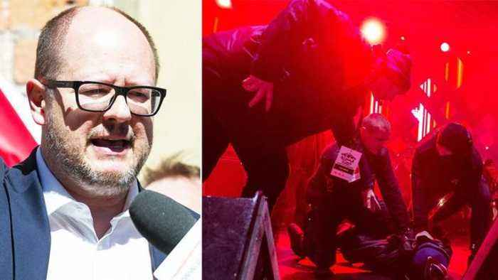 Ex-Con Stabs Polish Mayor on Stage at Charity Event: Reports
