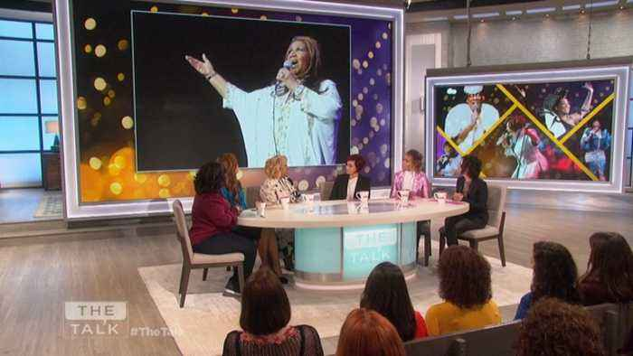 The Talk - Patti LaBelle on Aretha Franklin Tribute & Photo Mishap: 'It was a big mistake'