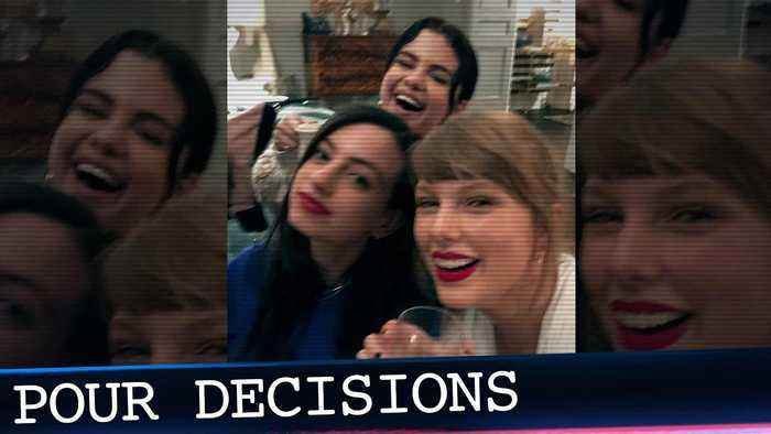 Taylor Swift Enjoys Wine Night With Selena Gomez & Pete Davidson's Ex