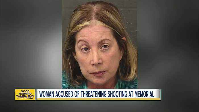 Florida woman arrested for threatening mass shooting during memorial for K9 officer