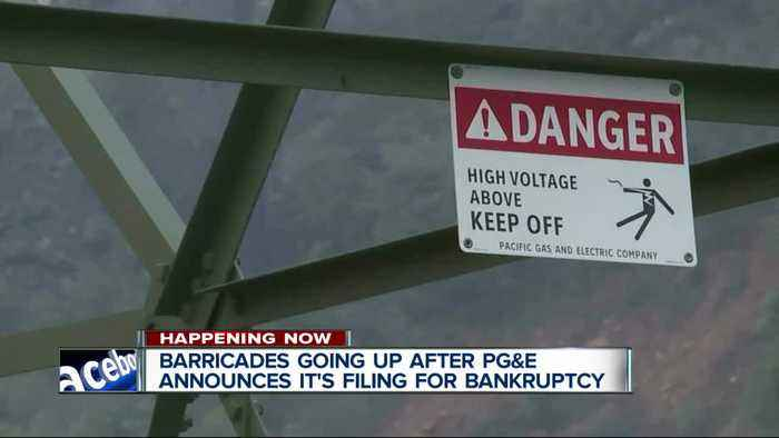 PG&E set to file for bankruptcy